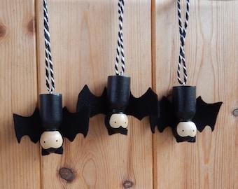 Halloween decorations, Halloween bats, Bats, Halloween decor, Hanging Halloween decoration