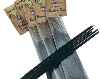 Absinthe and Sugar Charcoal Incense 20 Sticks Bloodbath