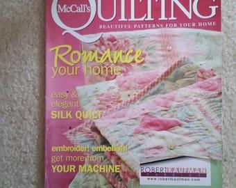 McCall's Quilting Magazine June 2006