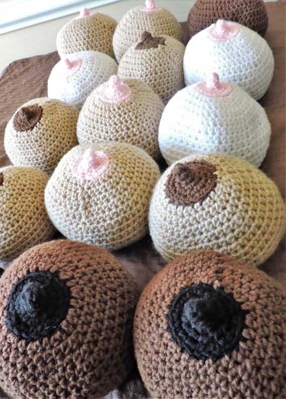 Crochet Boob Crochet Breast Lactation Consultant