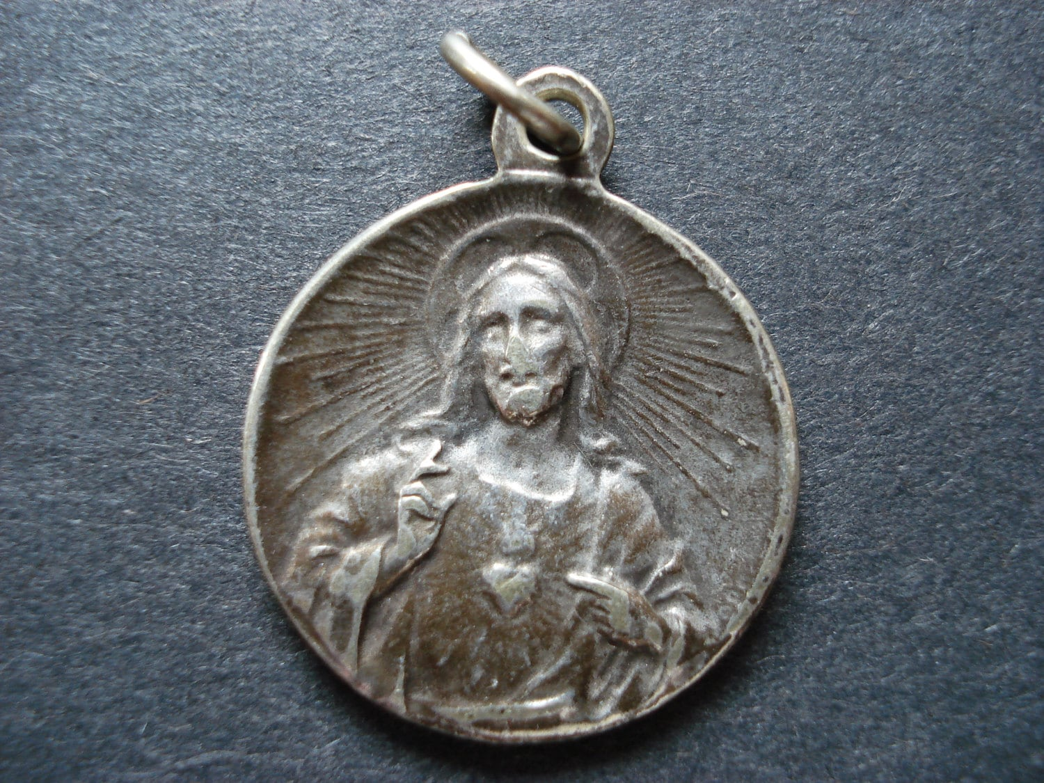 medallion fullxfull antique god lamb of bracelet jewelry il bronze agnus necklace sterling pendant listing silver catholic medal dei