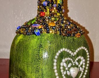 Upscaled and Embellished Patron Bottle