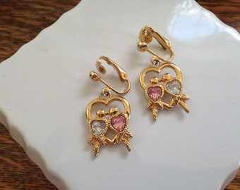 Avon Love Birds Earrings