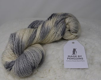 Grey Skies 100g Baby Alpaca Wool
