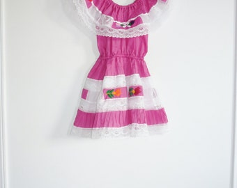 Vintage Pink Girl's Sundress