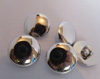 Gold or Silver Flat Head Blazer Buttons
