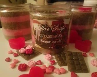 Chocolate Roses Sugar Scrub