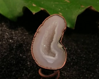 Geode Bun Screw Decoration