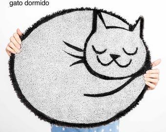 Sleeping Cat's original doormat