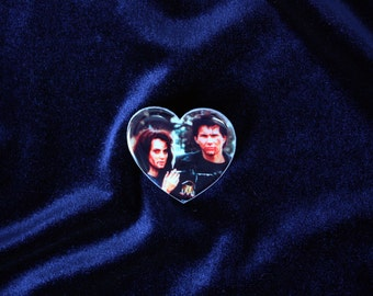 Heathers Brooch, Heathers Pin, Winona Ryder Brooch