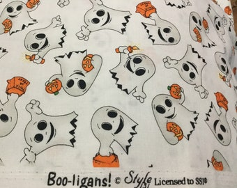 Trick or Treat Ghost Fabric Boo-ligans Style by SSI