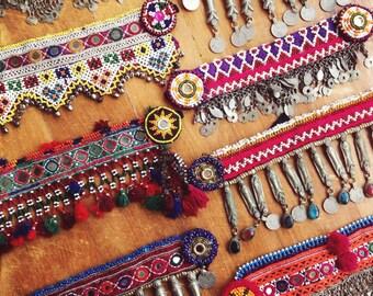 SALE Jalila Choker OOAK Vintage Afghani Choker Necklace