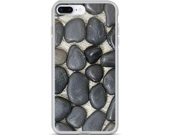 iPhone Cases, iPhone X Case, iPhone 6/6S, iPhone 7/7+ Cases ,Case iPhone 8/8+ Case, Pebble Stone Mat print