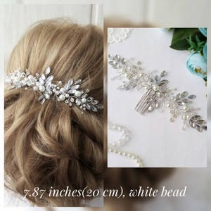Swarovski Bridal hair comb,Crown,Bridal hair vine,Crystals Bridal Wedding,Hairpiece Bridal Hair Vine,Wedding hair-vine,pearl hair vine 37