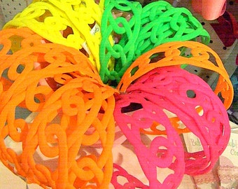Neon Headbands-Bright Colors Headbands-Hot Colors headbands