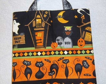 Scaredy Cats Halloween Tote Bag
