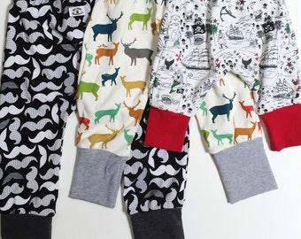 Grow with Me Babywearing Pants - Harem style - custom design