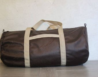 Duffel bag sports Shearling
