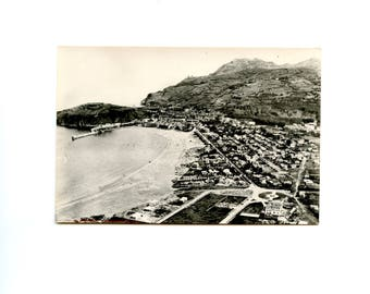1950/60 - Laredo Beach - Spain - postcard old real photo black and white non-written