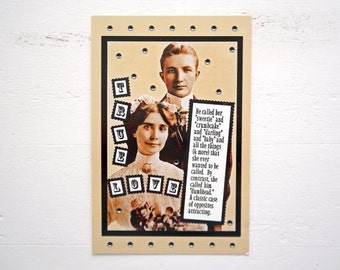 "True Love Postcard Valentine Wedding Romance by Remember Me Emily 4"" x 6"""