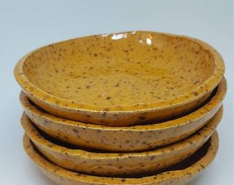 Orange Speckle Bowls