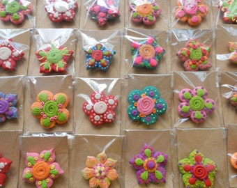 12 Flower Magnet Series - Party Giveaway Collection