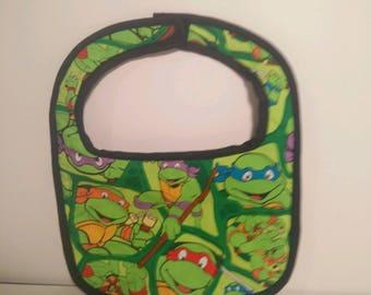 Teenage Mutant Ninja Turtles Bib