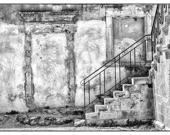Old Building // Crete, Greece // Fine Art Photograph // Greek Isles // Rethymnon // Abstract Art // Christmas Gift