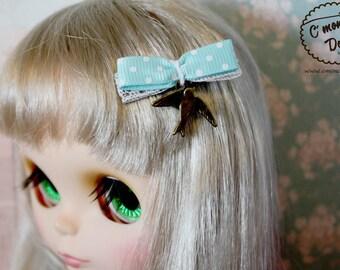Blythe Vintage Sparrow hair clip