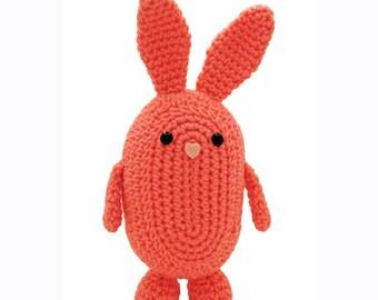 Crochet Pattern: Amigurumi Bunny Rabbit, Rabner