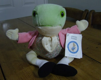 Jeremy Fisher Beatrix Potter Cuddly Toy