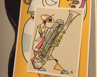 The Dulcet Bundle: Six Musician Prints of Various Sizes