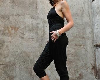 Jumpsuit ~ Corset ~ Yoga ~ Bamboo ~ Harem jumpsuit ~ Woman romper ~ Lounge wear ~ Bamboo Clothing ~