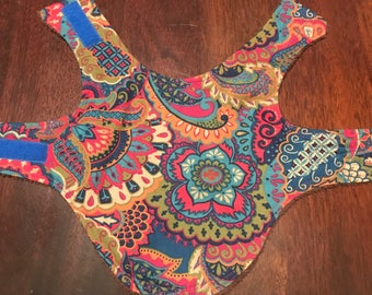 Reversable Hippie Dog Vest