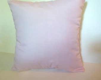 Closeout! Pale Pink Pillow Cover Accent Throw 2 sizes