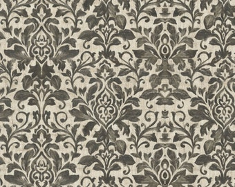 French Flea Market - Gray Floral from Four Seasons
