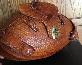 1940's Taxidermy Armadillo handbag