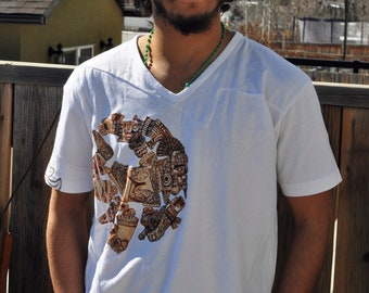 Men's Mayan Art T-Shirt