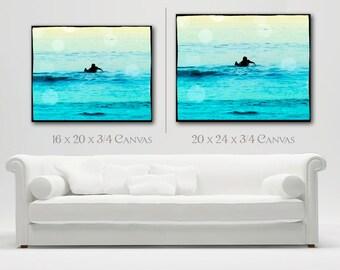 Surfing Canvas Wall Art, Surfer Photography Wall Decor, Retro Surfer Art, Beach DecorCanvas Art, Retro Surf Art, Large Canvas Wall Art