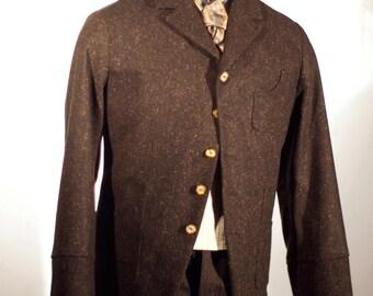 Irish Tweed Workingman's Sack Coat and Pant---Editions '36