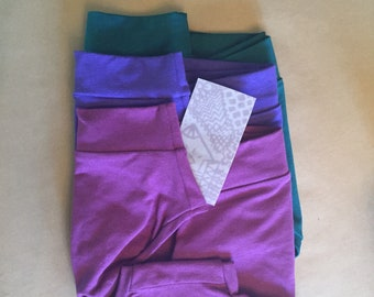 BASIC BRIEF / 3 pack / bamboo jersey panties / eco underwear / set of three / made to order / by replicca / size S to XL / your choice