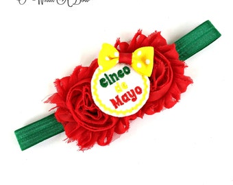 Cinco De Mayo Bow, Cinco De Mayo Baby, Cinco De Mayo Girl, Cinco De Mayo Hairbow, Cinco De Mayo Party, Fiesta Bow, Fiesta Hair Bow