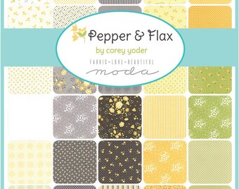 INSTOCK- Pepper and Flax Half Yard Bundle 30 Pieces By Corey Yoder  for Moda Fabrics, SKU# 29040HY