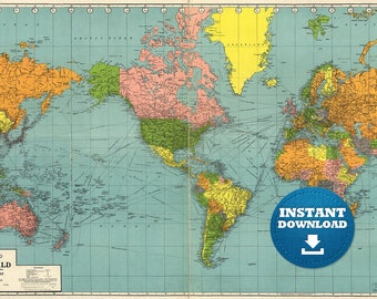 Digital old world map printable download vintage world map digital old world map printable download vintage world map printable map large world map high resolution world map posterastralia gumiabroncs Choice Image