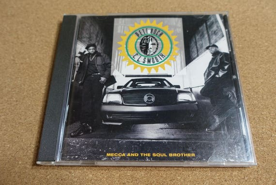 Mecca And The Soul Brother by Pete Rock & C.L. Smooth Vintage CD Compact Disc