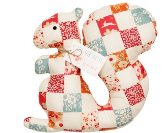 TILDA Patchwork Squirrel