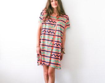 The Wavy Boxy Dress
