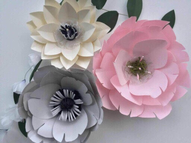 3d Paper Flower Wall Art Ukrandiffusion