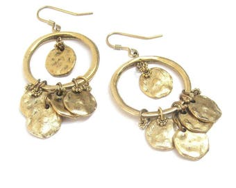 Chains of Gold Drop Earrings Birthday Mothers DaySister Best Friend Anniversary Present - Gift for her