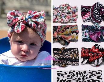 Baby headband, Baby Girl headband - turban headband - baby shower - baby knot headband -  baby turban headband - baby headband CH05